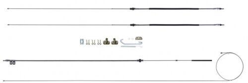 BRAKE CABLE KIT E-BRAKE CAMARO FIREBIRD 70 71 72 73 74 EMERGENCY CABLES RSBCF03