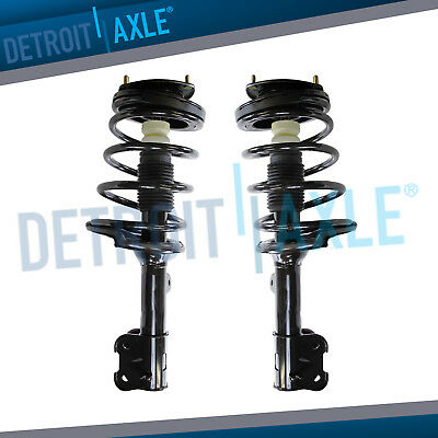 4PC Complete Front Struts and Coil Spring Assembly and Rear Shock Absorbers for 2001 2002 2003 2004 2005 2006 Hyundai Santa Fe 2.4L and 2.7L Models ONLY Detroit Axle