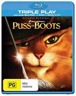 Puss In Boots (Blu-ray, 2012, 2-Disc Set)