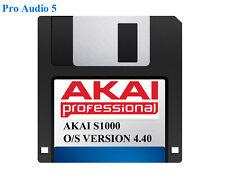 Akai S1000 Operating System on Floppy Disk Version 4.40