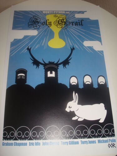 "The Monty Python and the Holy Grail 24/"" x 36/"" movie poster print"