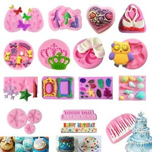 70-Silicone-Fondant-Mould-Cake-Mold-Chocolate-Baking-Sugarcraft-Decorating-Tool