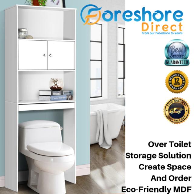 Bathroom Towel Storage Cabinet Cupboard