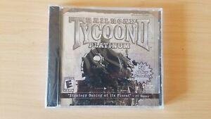 Railroad Tycoon 2 Platinum PC Game Jewel Case BRAND NEW SEALED!
