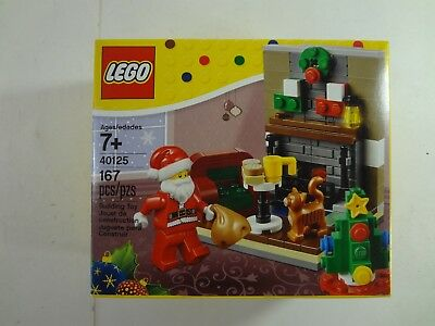 40124 Very Hard To Find 2015 LEGO Winter Fun Christmas