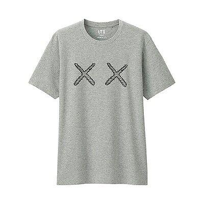 UNIQLO x KAWS Tee - Gray SIze: XL