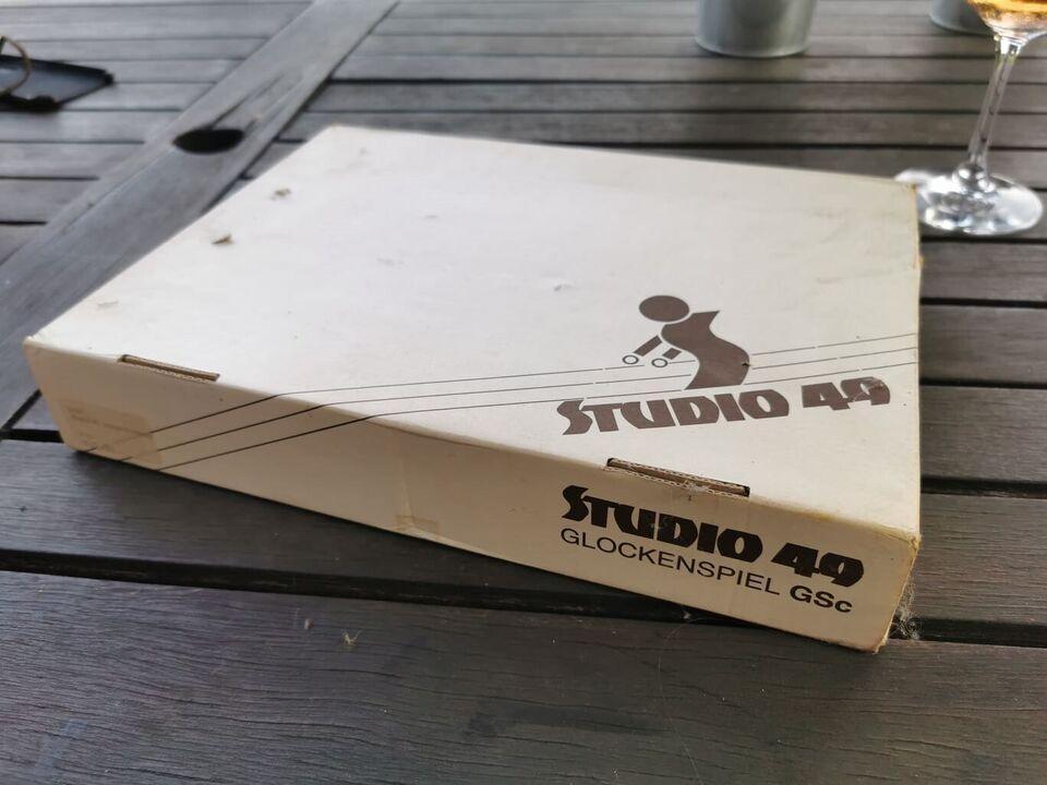Xylofon, Studio 49 GSc sopran klokkespil