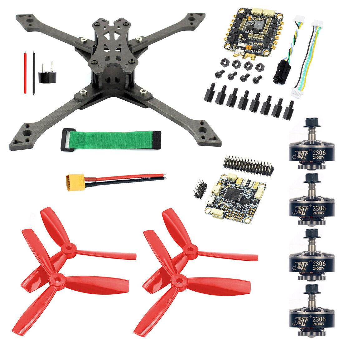 JMT HÁGALO USTED MISMO Vista en primera persona Racing Drone soldado Combo Kit BS430 30A Esc F4 Pro V2