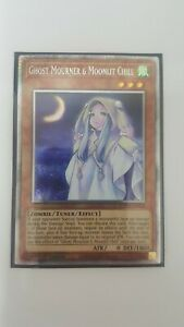 Ghost Mourner Moonlit Chill ETCO-EN036 Secret Mint Yugioh 1st Ed IN HAND