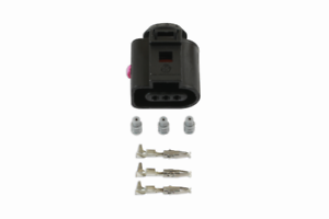 Connect 37366  Electrical Female Connector 1.5mm 3 Pin Kit Fits VW