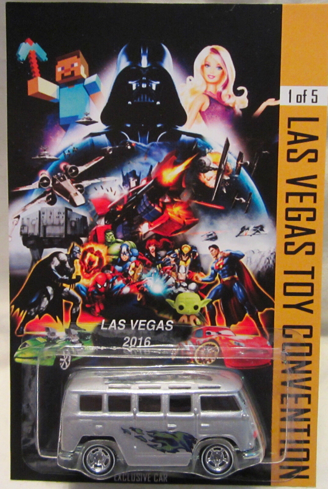 Hot Wheels a a a Medida Volkswagen Deluxe Station Wagon 2016 las Vegas RR 1 5 Made e54ff0