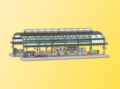 Kibri h0 39565-bahnsteighalle bonn feria precio kit Artículo nuevo