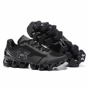2018 Men s Under Armour Mens UA Scorpio Running Shoes All Black ... cc3a2ab6d