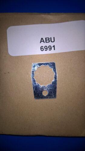 ABU PART REF# 6991. ABU AMBASSADEUR 7000 WINDING HANDLE NUT RETAINING PLATE