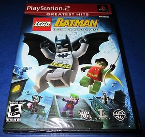Lego Batman The Videogame Playstation 2 Ps2 Factory Sealed Free
