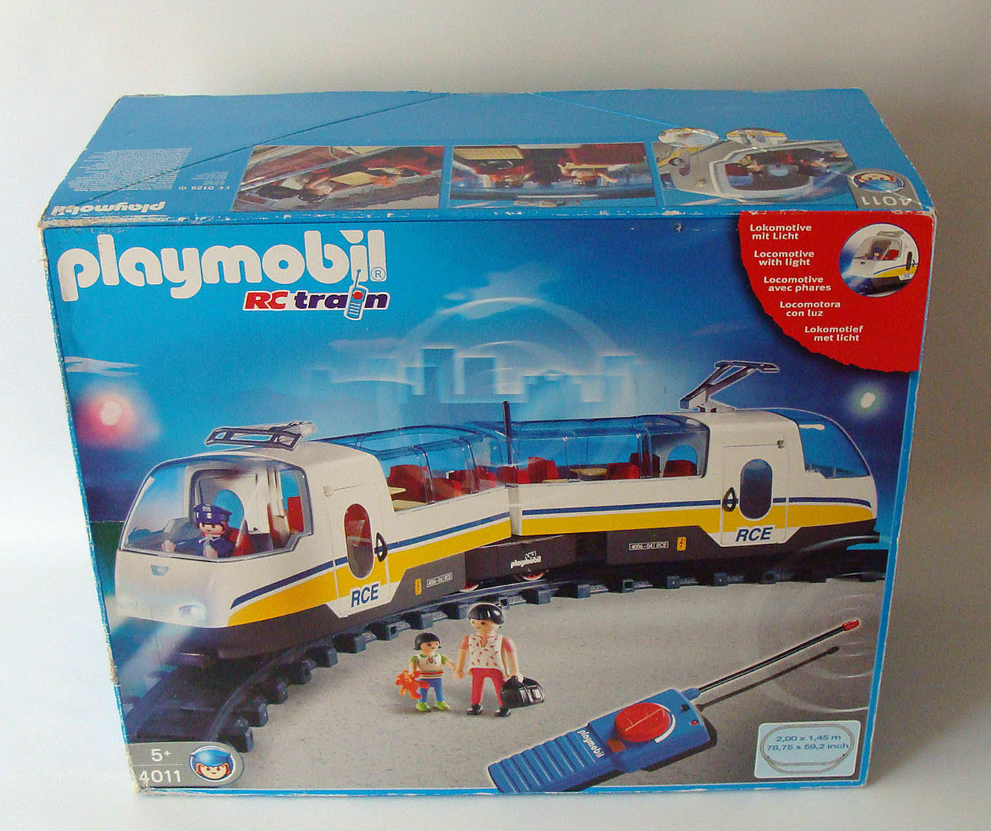 PLAYMOBIL® 4011 BOX BOX BOX TRAIN TGV RC + RAIL + Figurine Accessoire LOCO WAGON ☆L5☆1E aff483