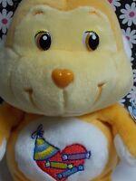 Rare 20th Anniversary 2002 Care Bear Cousins Playful Heart Monkey 8 Beanie
