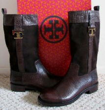 8e7201739d39 TORY BURCH COREY Boots 7.5 Crocodile Embossed Leather   Suede Mid-Calf -New   495. TORY BURCH COREY Boots 7.5 Crocodile Embossed Leather   Suede Mid-Calf