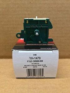 New OEM Genuine Ford Motorcraft HVAC Blower Control Switch YH1658 F2UZ-19986-D