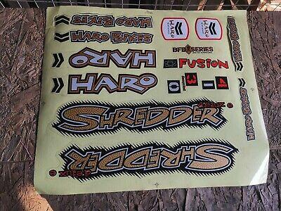 OLD SCHOOL BMX NOS HARO SHREDDER Sticker NOS