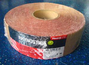 Indasa 960-320 Rhynostick Redline Roll 320 Grit Sticky Back Longboard Sandpaper