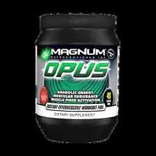 Magnum Nutraceuticals OPUS Amino Acid Intra Workout - Blue Yaspberry 01/2018EXP