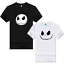 Anime The Nightmare Before Christmas T-Shirt Logo Hommes et Femmes Manches Courtes