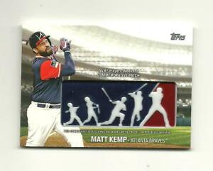 2018 Topps Series 1 Players Weekend Logo Patch Card Matt Kemp PWP-MK ... 504c64aeea1