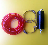 Go Kart Cart Racing Motor Oil Overflow Engine Catch Tank Can Kit Red Fuel Line
