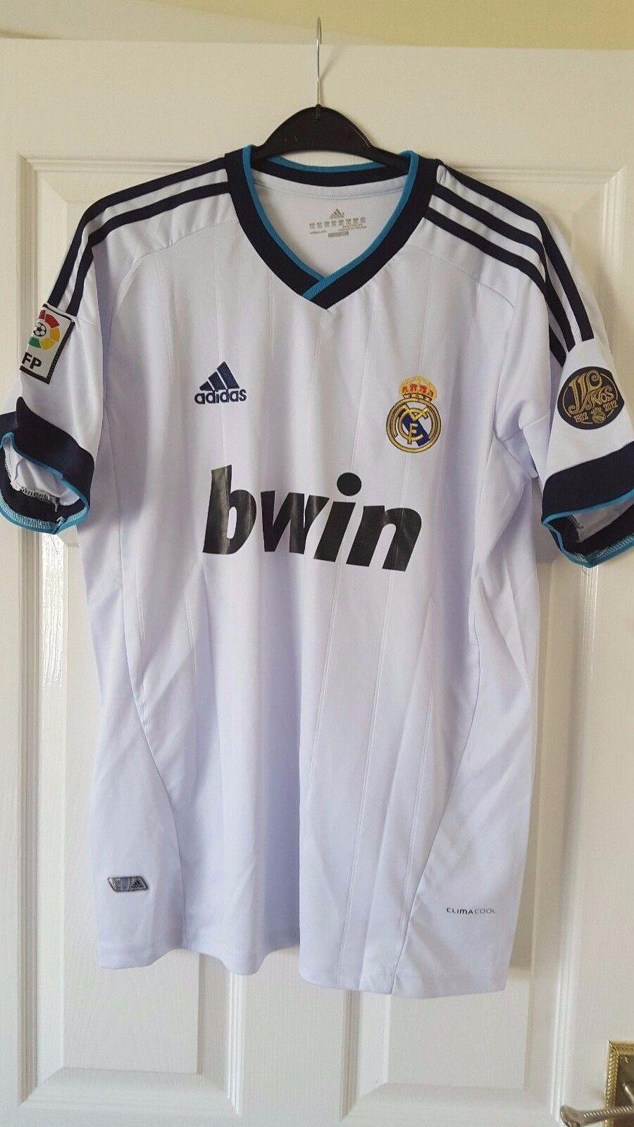 Camicia calcio da uomoREAL MADRID FCADIDASHOME 201213  RONALDO  7  XXL