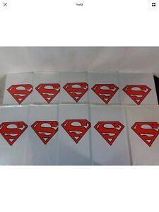 LOT-OF-10-1993-SUPERMAN-500-Collector-039-s-Set-Sealed-in-white-plastic-bag-HKR63