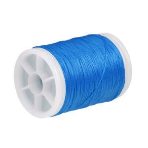 Blue Fiber Archery Nock Peep Bow String Serving Thread Bowstring Material