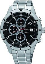 Nuovo Orologio Seiko Cronografo Uomo Watch SKS561P1 con Box e Garanzia