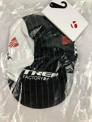 Trek Factory Racing Replica Cycling Cap Hat Black//White Unisize 4e