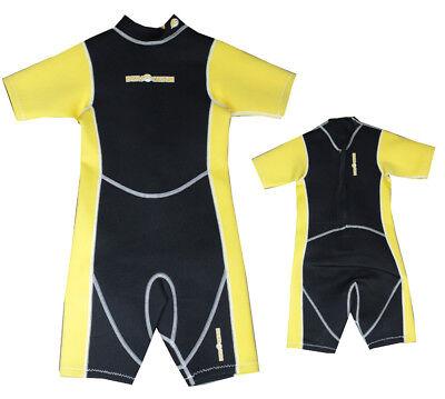 Devocean Shorty Youth Kind Neopren Schwimm Surf Wakeboard Wasserski Anzug RP