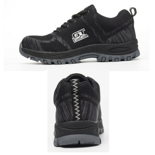 Mens Safety Boots Steel Toe Cap Work Shoes Ankle Trainers Hiker Protective Size