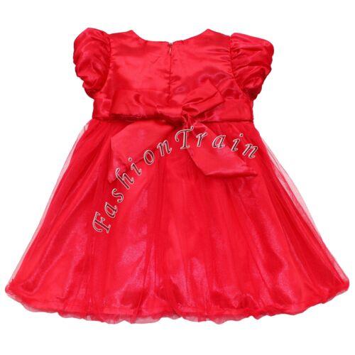 Flower Girl Dress Kid Pageant Formal Communion Party Wedding Bridesmaid Princess