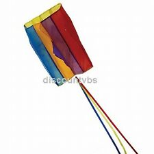 In The Breeze Pouch Parafoil Kite Rainbow - Weather Resistant Rip Stop Polyester