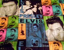 1 yard of  VIP Elvis Presley Patchwork  Fabric