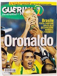 GUERIN-SPORTIVO-27-2002-RONALDO-BRASILE-CAMPIONE-WORLD-CUP-GIAPPONE-SUD-COREA