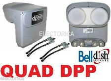QUAD DPP BELL EXPRESS VU PRO DP PLUS LNB HDTV HD TWIN DISH NETWORK 2 X SEPARATOR