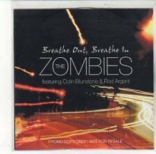 (DL134) The Zombies, Breathe Out Breathe In ft Colin Blunstone & Rod Arge- DJ CD