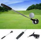 Retractable Scoop Telescopic Golf Ball Retriever Pick Up Steel Saver Shaft Tool