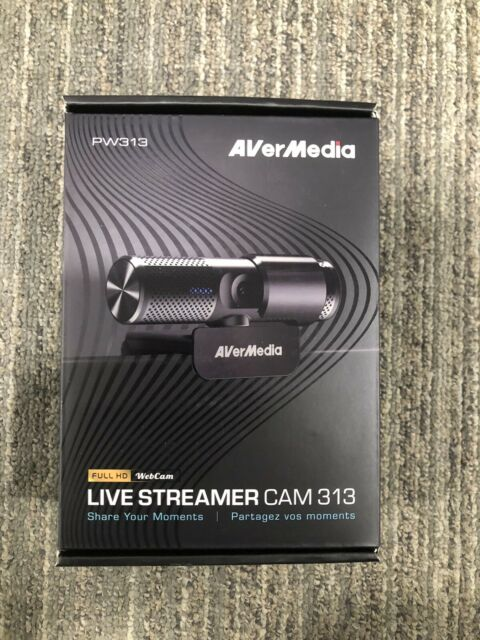 AVerMedia PW313 Live Streamer CAM 313 Full HD 1080P Streaming Webcam