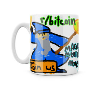 Magic Internet Money Bitcoin Fun Reddit Sub Meme Crypto Currency Mug Tea Cup | eBay