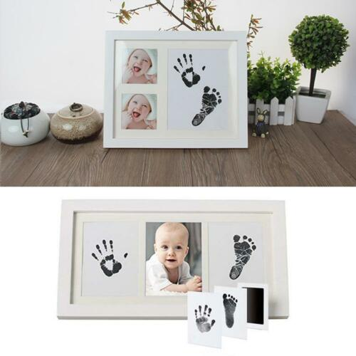 Baby Care Non-Toxic Handprint Footprint Imprint Kit Casting Infant Clay Toy NIGH