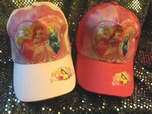 5e65d63b4bc31 Image is loading CHILDRENS-HAT-BASEBALL-CAP-STYLE-DISNEY-PRINCESS -ADJUSTABLE-