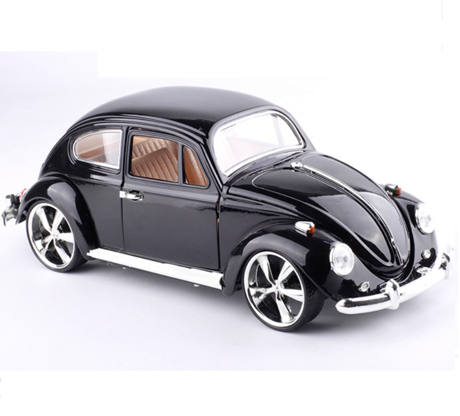 1:18 Scale car model Diecast VW Beetle Vintage Classic Cars Alloy ...