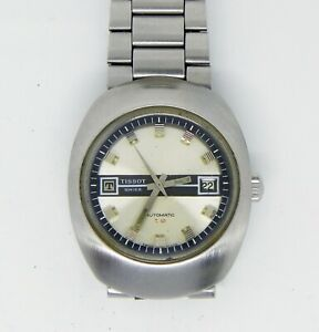 Tissot T 12 Automatic watch, Date, swiss made, Stainless steel case/bracelet