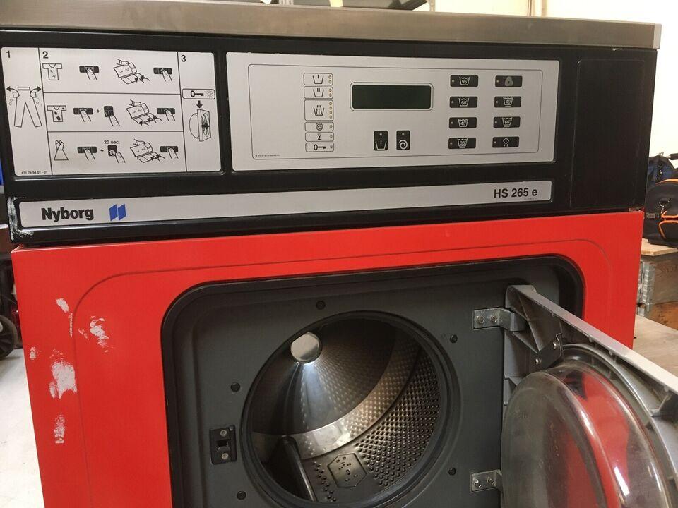Nyborg vaskemaskine, HS265e, topbetjent